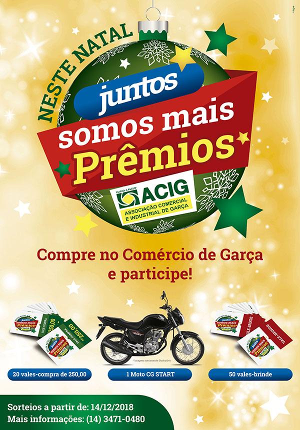 ACIG: continuam os sorteios da Campanha de Natal