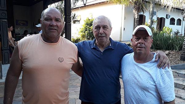 Zé Carlos e João Luiz visitaram Garça- Por Tico Cassolla