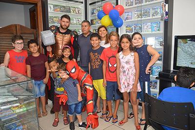 Sandrinho Games comemora 13 anos em Garça em clima de festa e alegria