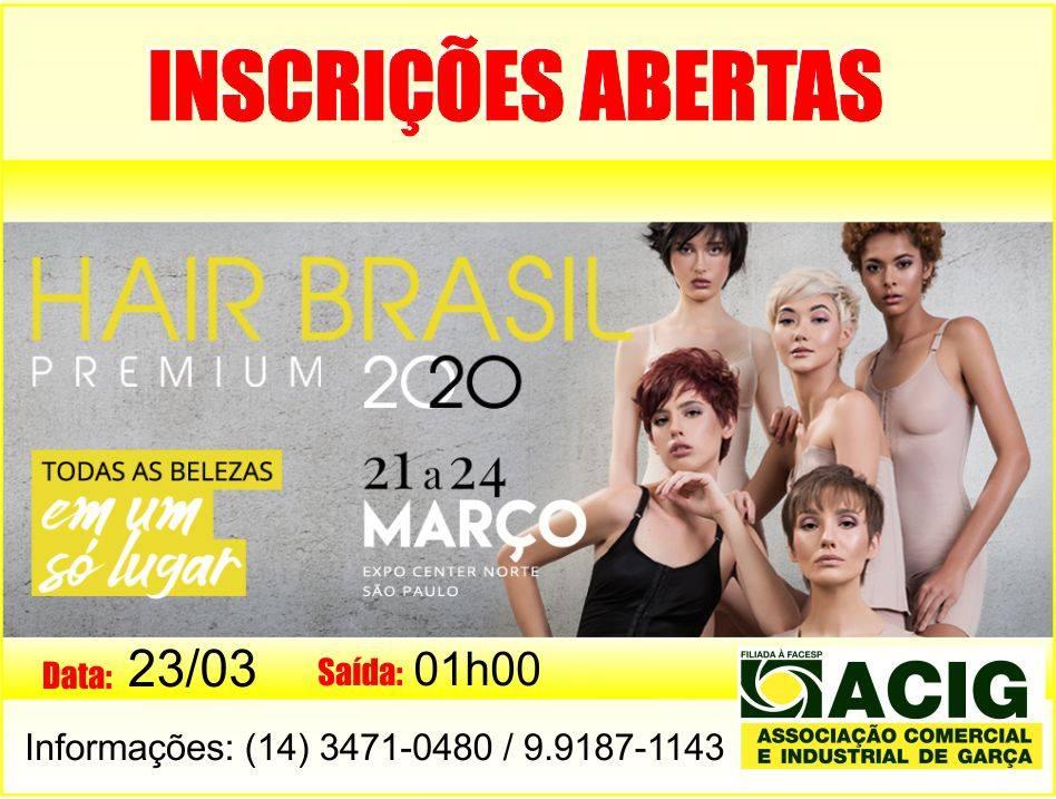 Acig prepara Missão Empresarial para a Hair Brasil 2020 em São Paulo