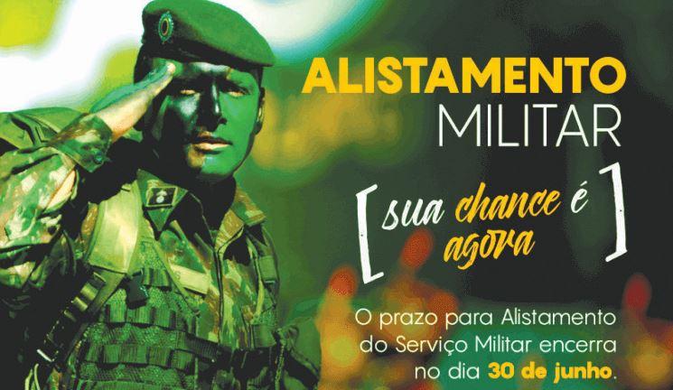 Atenção jovem para o prazo do alistamento militar