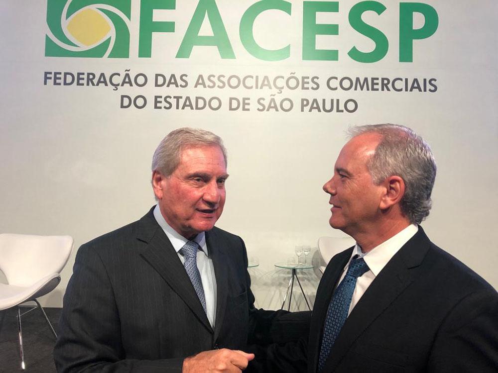FACESP apresenta propostas ao Governador para diminuir os impactos das medidas restritivas no comércio