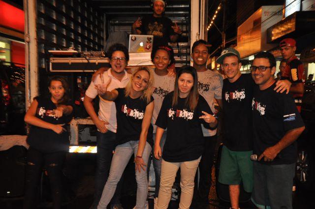 Grupo Wise Madness se apresentou em Garça nesta segunda (23)