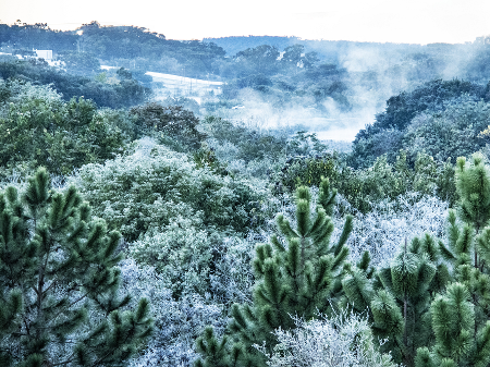 Massa de ar polar chega ao país com possibilidade de neve no RS e SC
