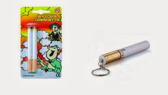 Lei proíbe fabricação e comercialização de produtos que imitem cigarros