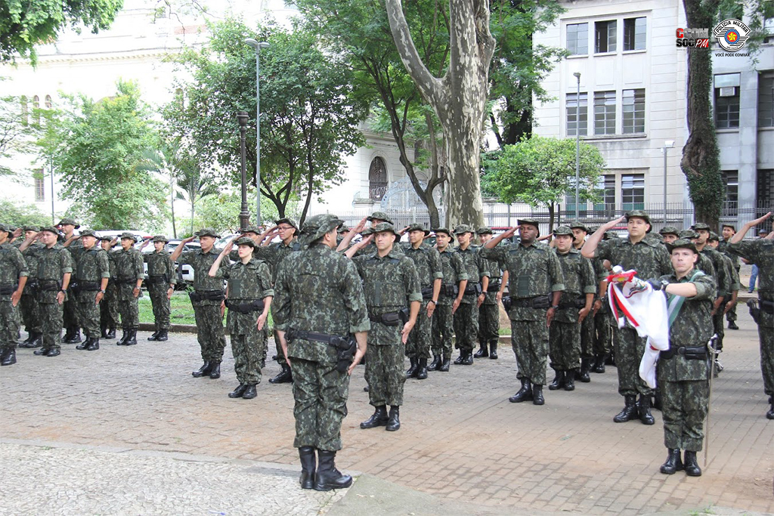 Polícia Militar Ambiental apresenta o novo fardamento em Operação