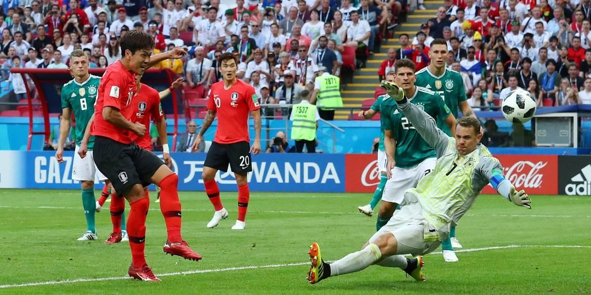Alemanha perde por 2 x 0 para a Coreia e é eliminada da Copa do Mundo