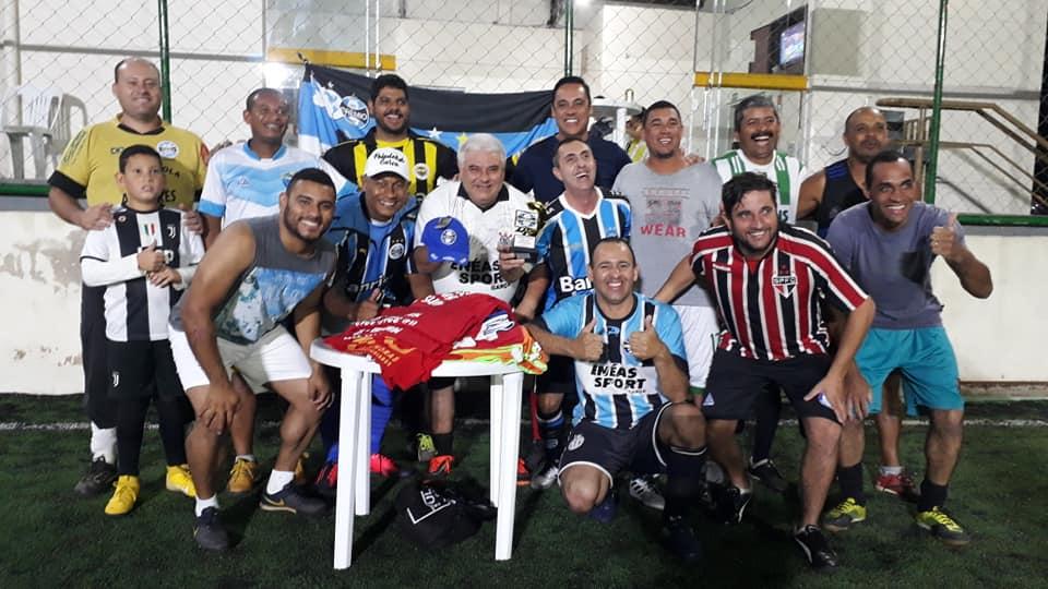 Gaúcho reúne amigos para jogo festivo